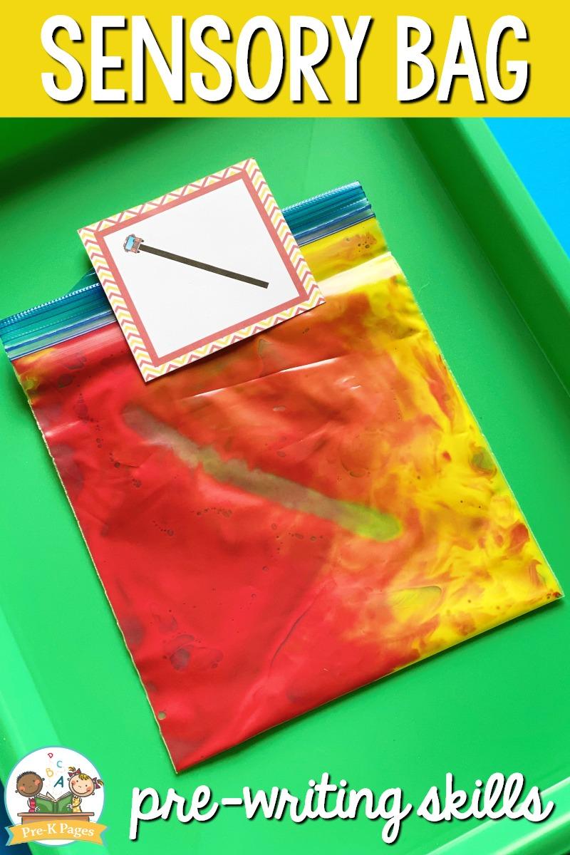 Sensory Bags for Preschool