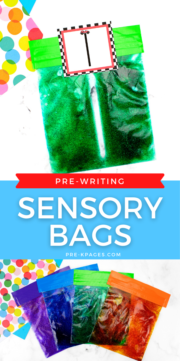 Sensory Bags for Preschoolers