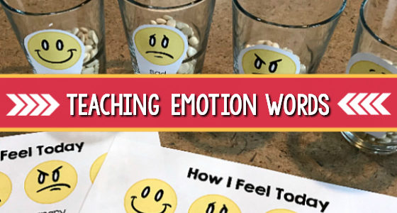 Emotion Words: Teaching Preschoolers About Their Feelings