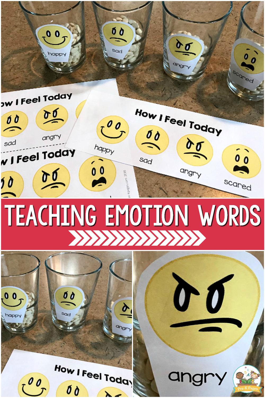 Teaching Emotion Words for preschool