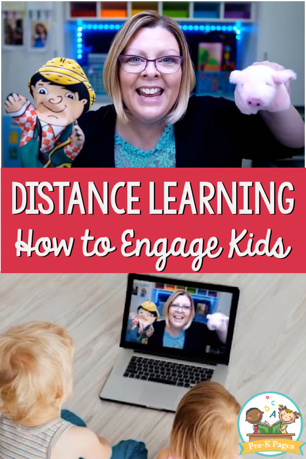 distance learning engaging pre-k