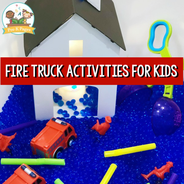 fire truck safety pre-k