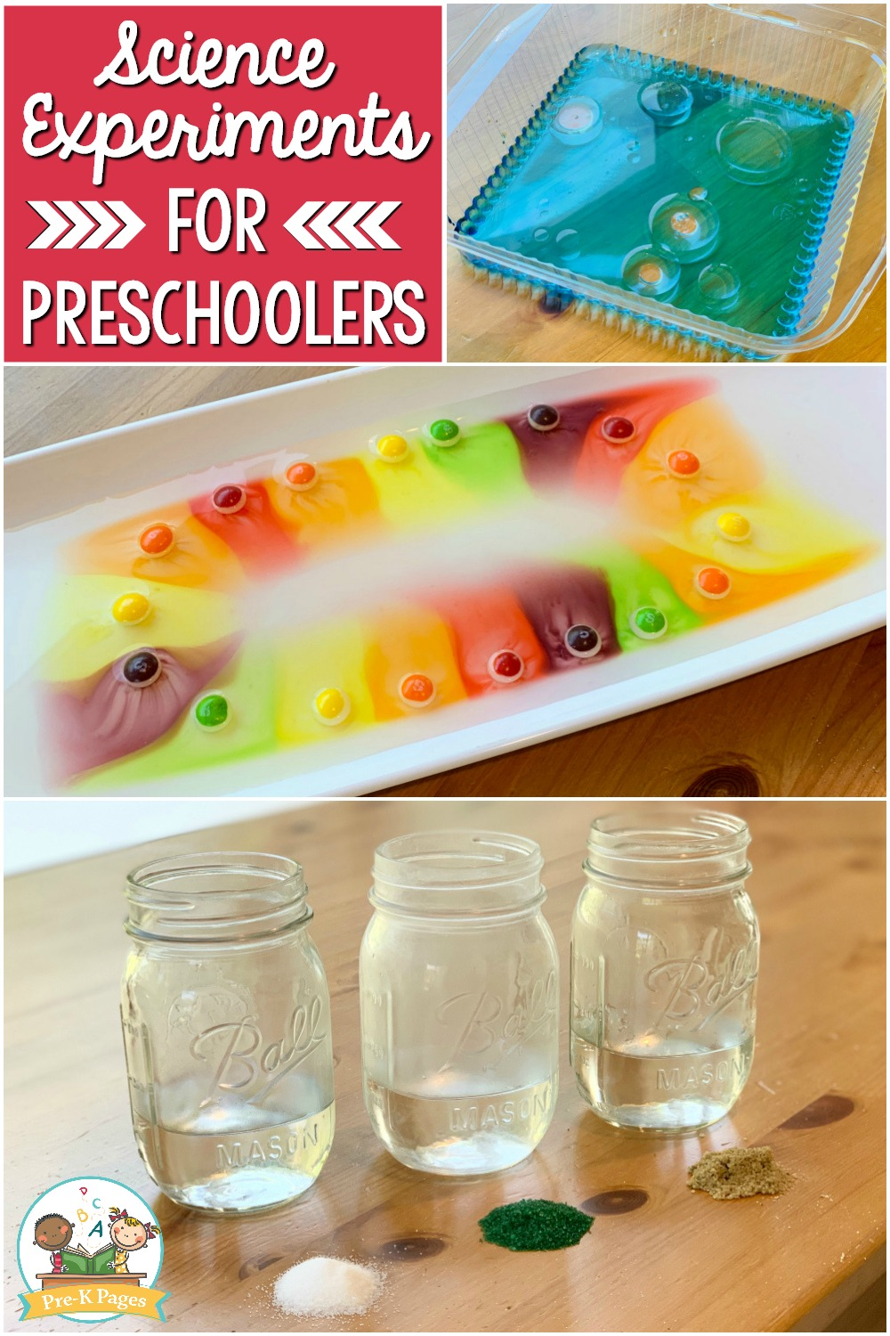 Pre-K Science Experiments at home