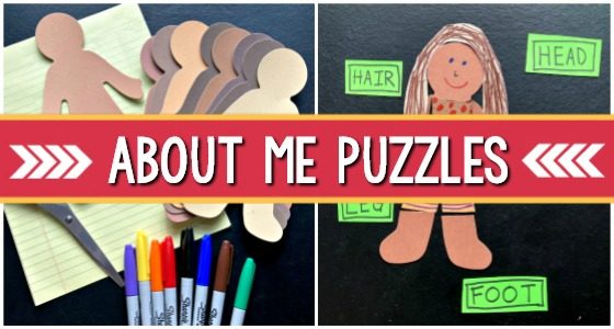 All About Me with People Puzzles
