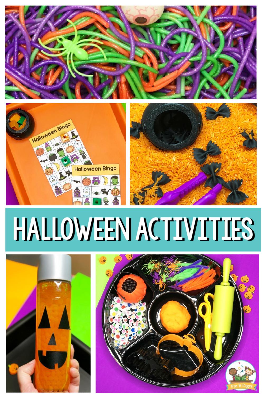 halloween activities for preschool