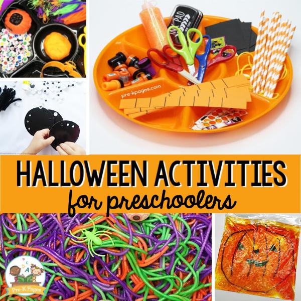 halloween pre-k centers