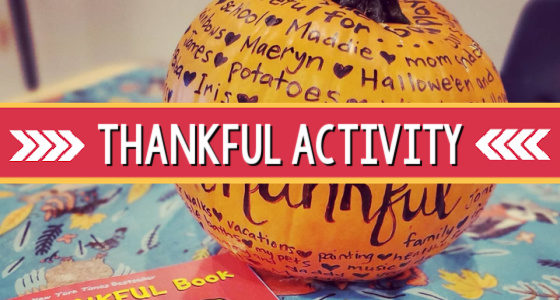 Thanksgiving Preschool Class Activity