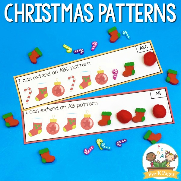 Christmas Patterning Activity