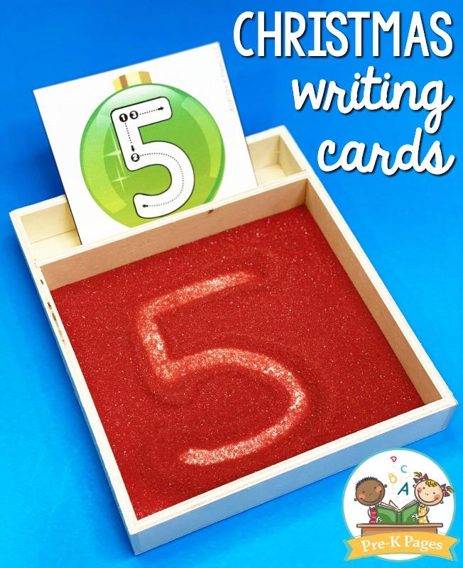 Christmas Writing Cards
