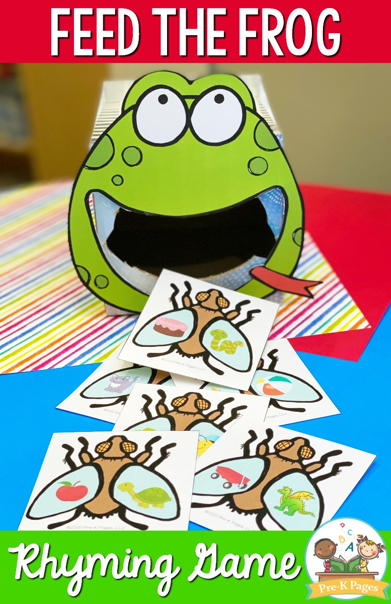 Frog Rhyming Game