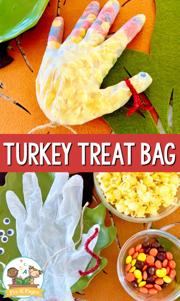 Popcorn Turkey Snack Bag