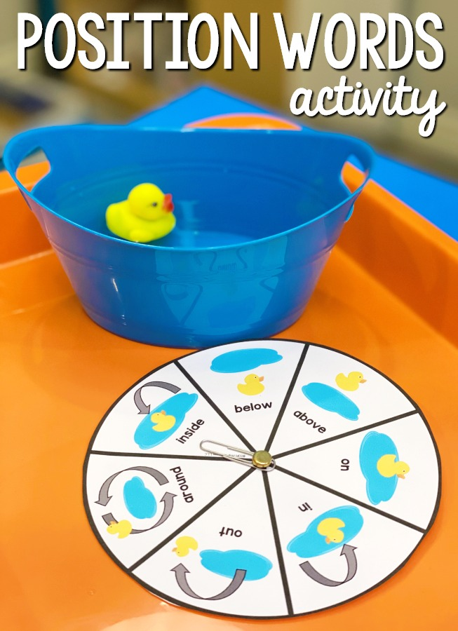Position Words Activity