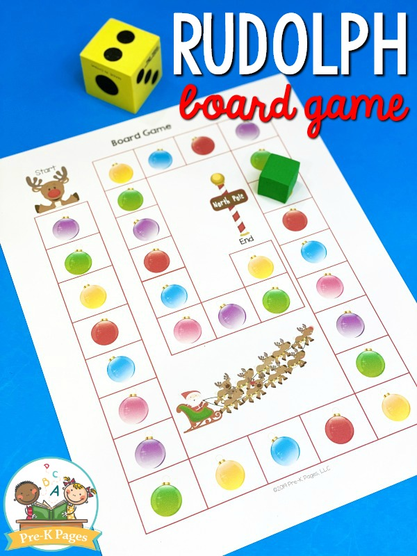 Rudolph Board Game