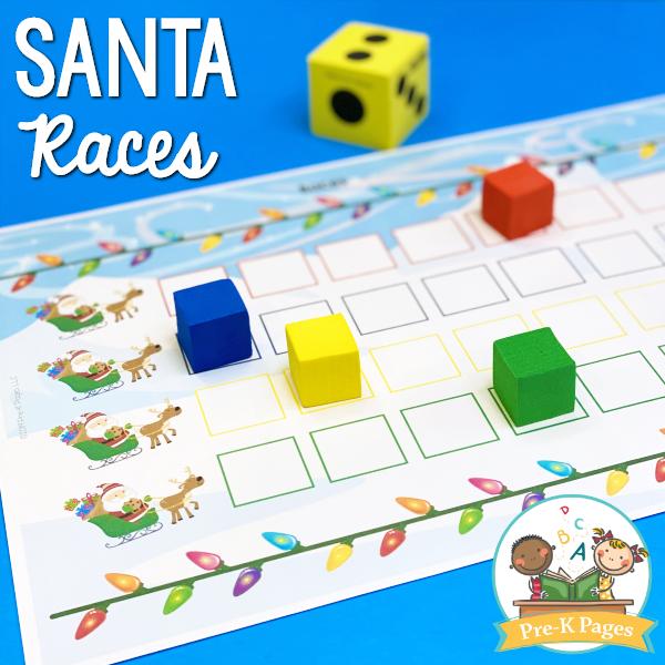 Santa Races Game