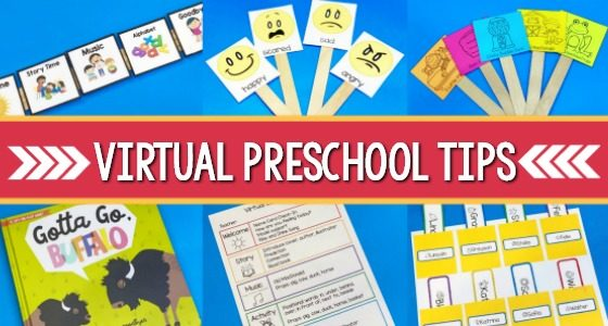 Virtual Preschool Teaching Ideas