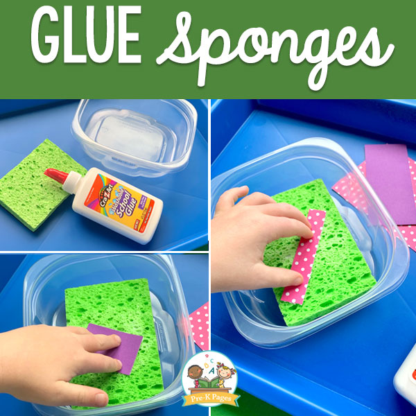 glue boxes option for pre-k