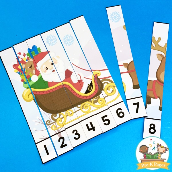 Christmas Number Puzzle