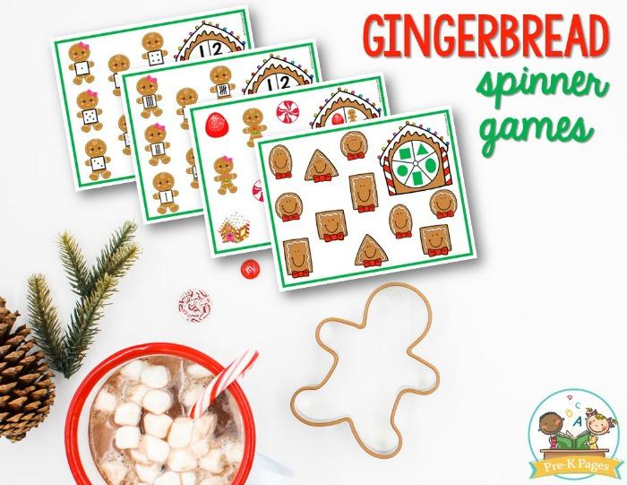 Gingerbread Spinner Games