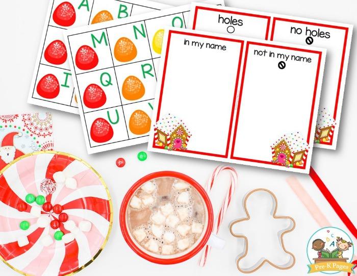 Gingerbread Visual Discrimination Activity