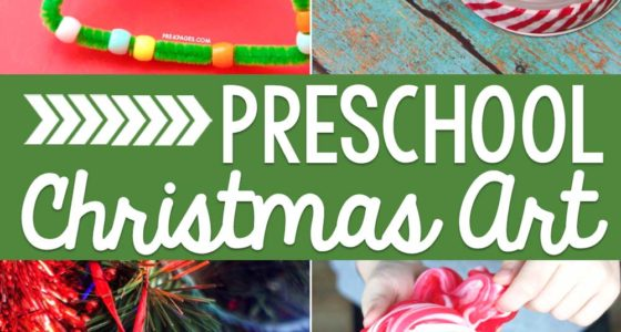Preschool Christmas Art Ideas