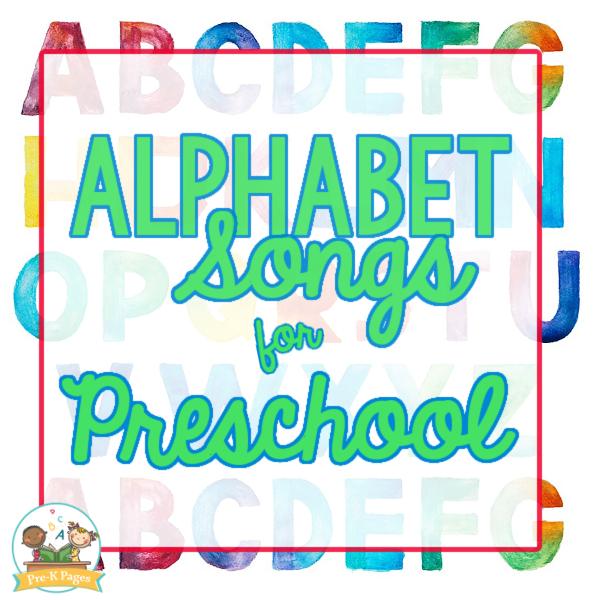 Alphabet Songs for Preschoolers