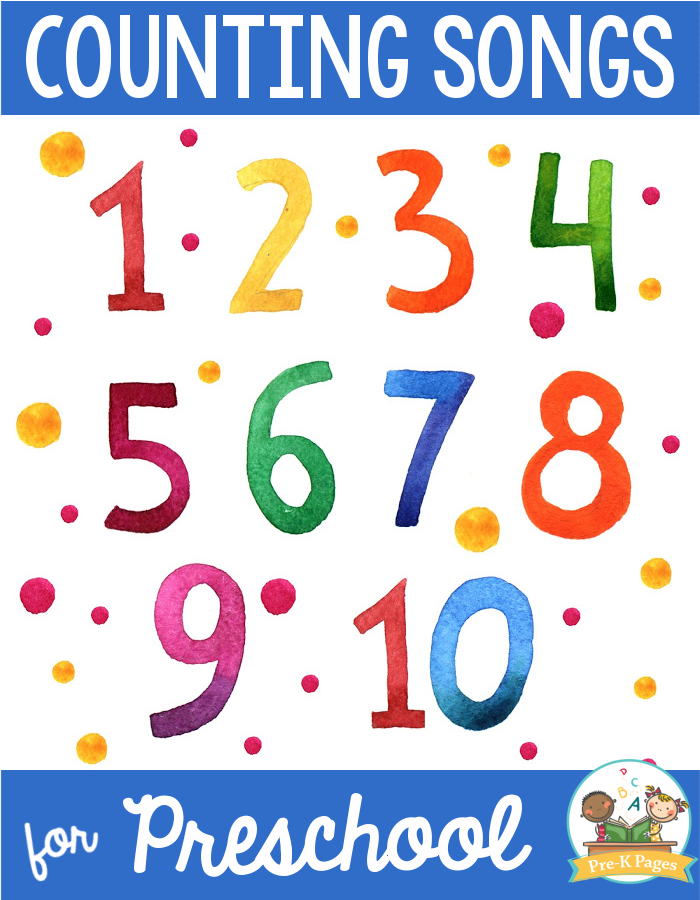 Counting Songs for Preschool