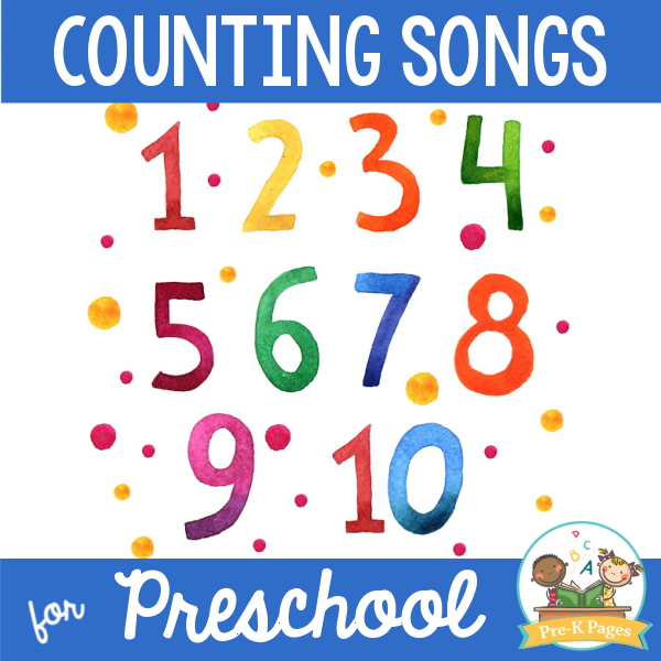 Counting Songs for Preschoolers