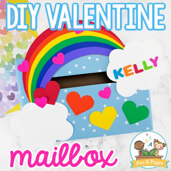 DIY Valentine Mailbox for Kids