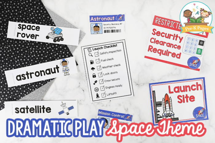Space Theme Dramatic Play
