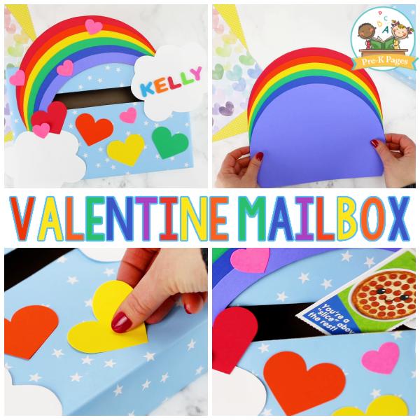 Valentine Mailbox for Kindergarten