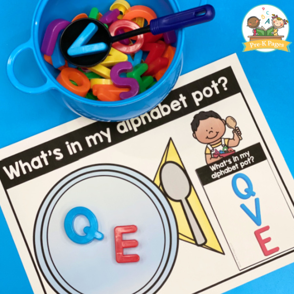 Alphabet Soup Early Literacy Game