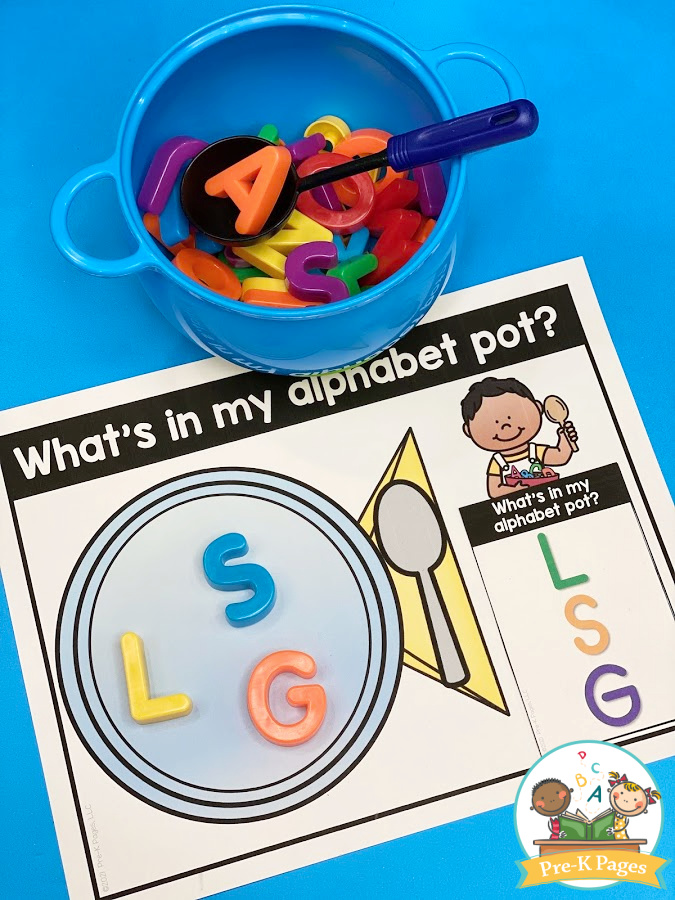 Alphabet Soup Literacy Activity