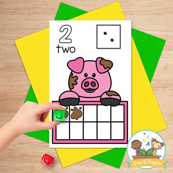 Farm Theme Ten Frames