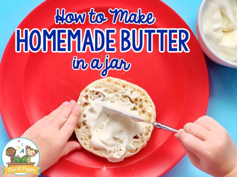 Spreading Homemade Butter