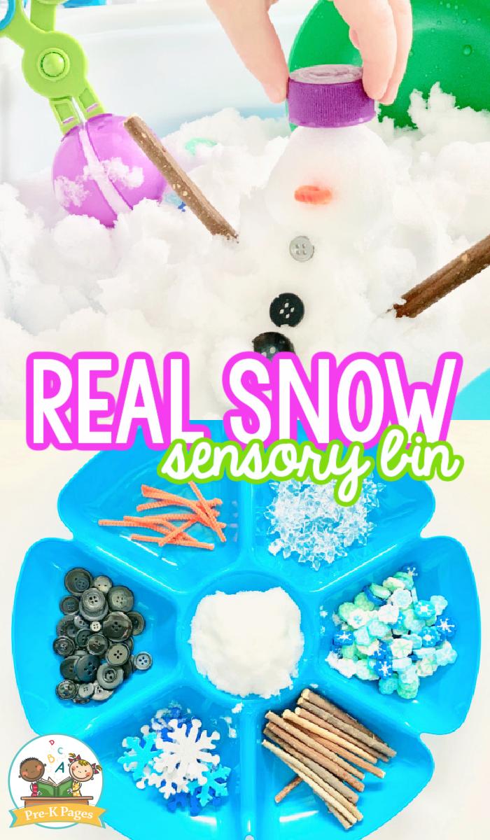 Winter Sensory Bin Ideas