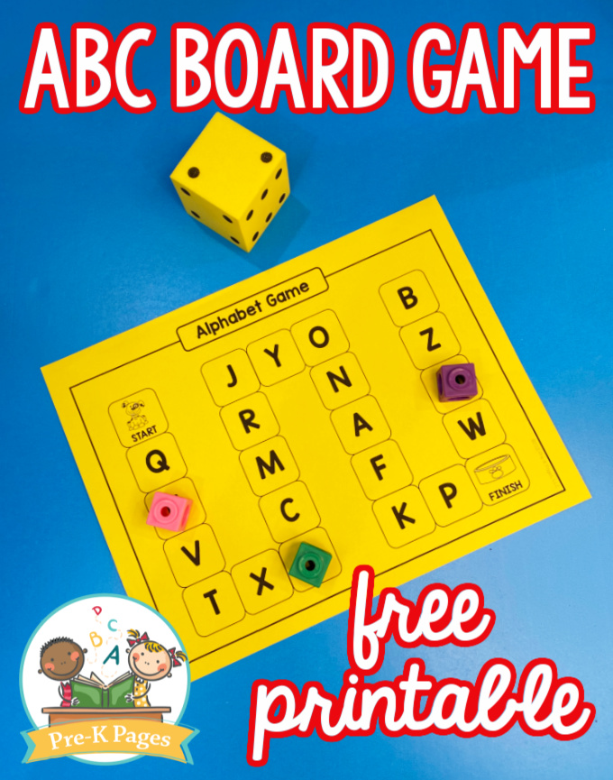 ABC Board Game Printable