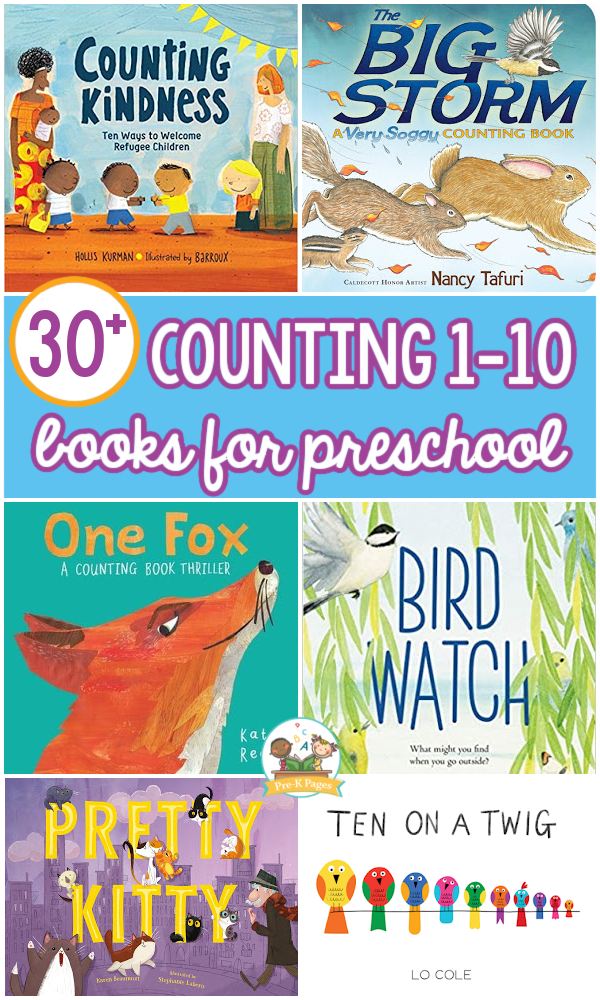 Best Counting Books for Preschool Kids