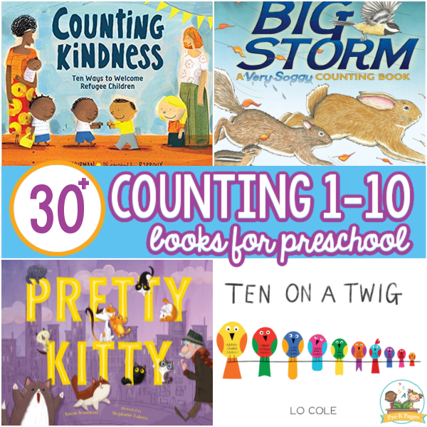 Best Counting Books for Preschoolers