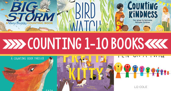 Counting 1-10 Books for Preschoolers