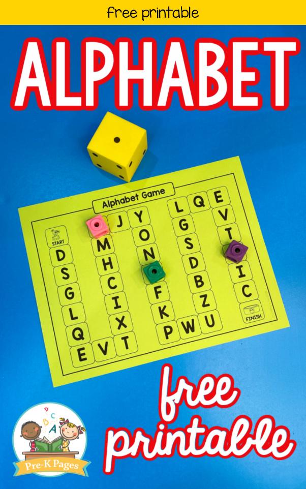 Editable ABC Board Game