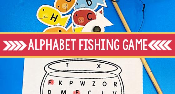 Printable ABC Fishing Game