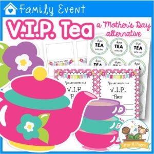 VIP Tea: A Mother's Day Alternative