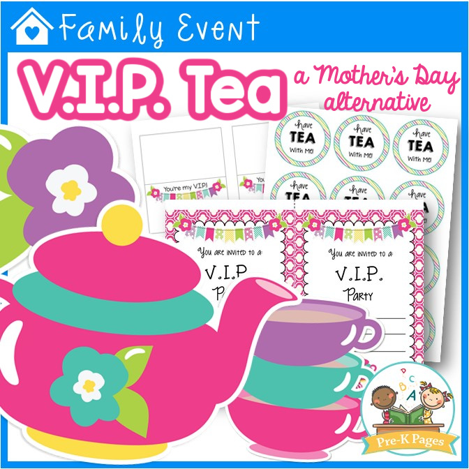 Mother's Day Tea Party Kit