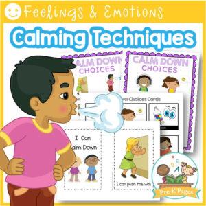 Calm Down Kit For Preschool Kids