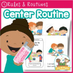 Center Time Visual Routine