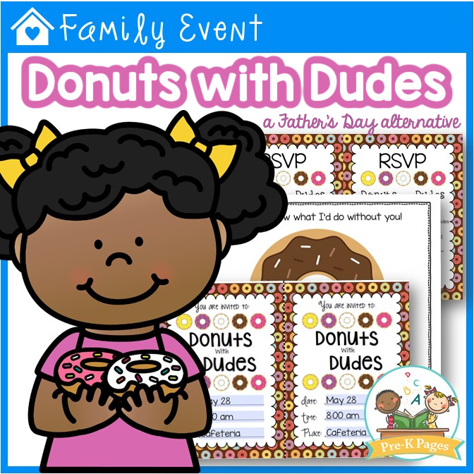 Donuts with Dudes Father's Day Alternative