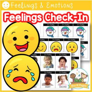 Feelings Check-In Cards