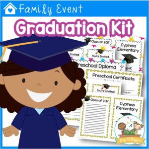 Preschool Graduation Kit