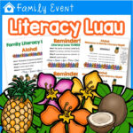 Family Literacy Night Luau Theme