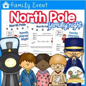 North Pole Family Literacy Night Kit
